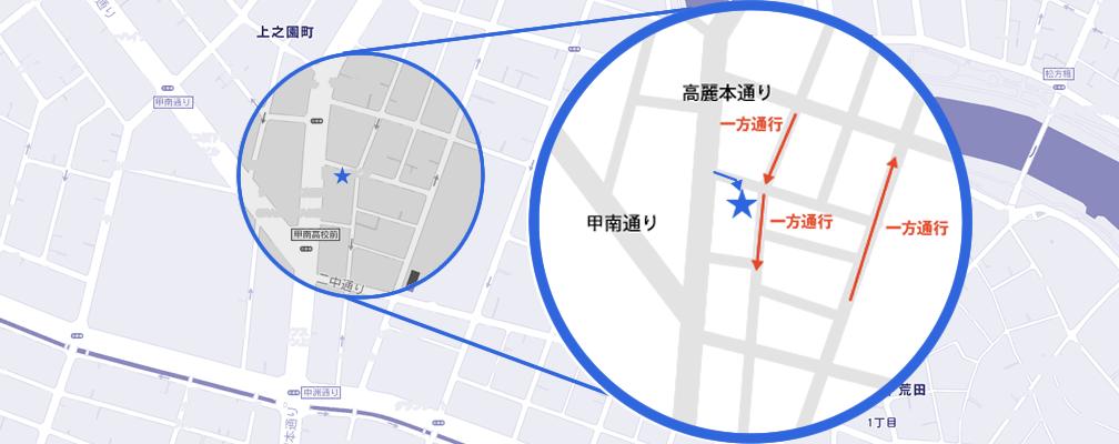 高麗店地図詳細